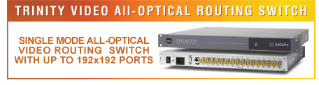 TRINITY - Video All-Optical Routing Switch